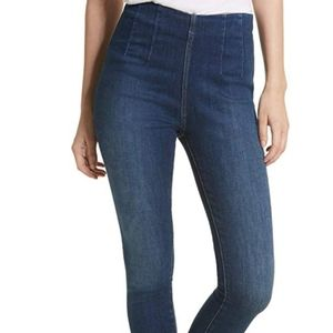 Free people stretch high rise skinny jean
